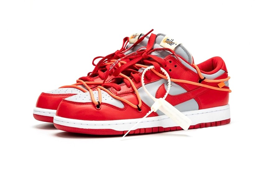 "https   hypebeast.com image 2019 09 off white nike dunk low university red best look ct0856 600 002 - Ya están aquí las nuevas Dunk Low ""University Red"" de Nike x Off-White™"