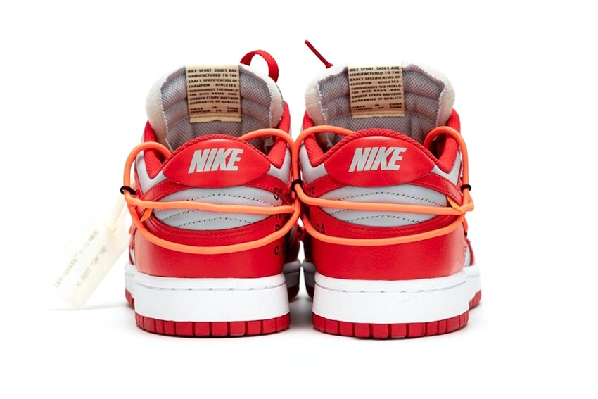 "https   hypebeast.com image 2019 09 off white nike dunk low university red best look ct0856 600 004 - Ya están aquí las nuevas Dunk Low ""University Red"" de Nike x Off-White™"