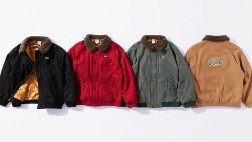 Supreme y Lacoste van a llenar de color el otoño con su nueva colección