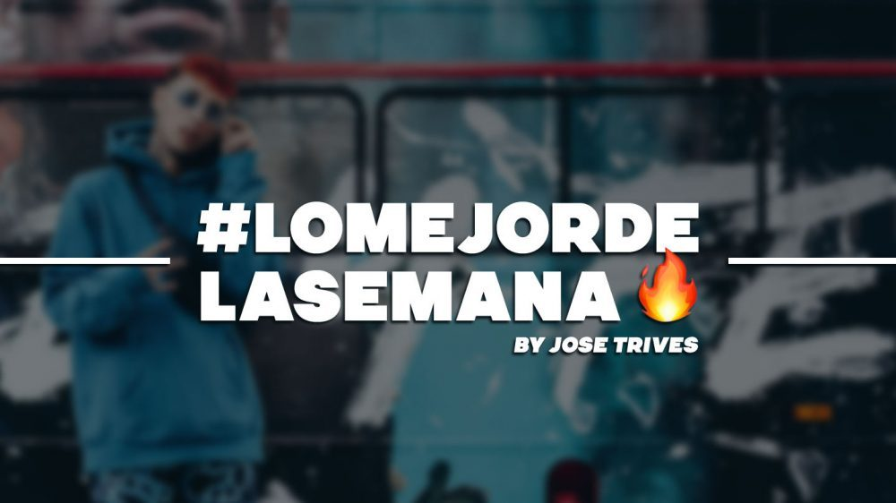 #LoMejorDeLaSemana: C. Tangana, Agnez Mo y mucho más