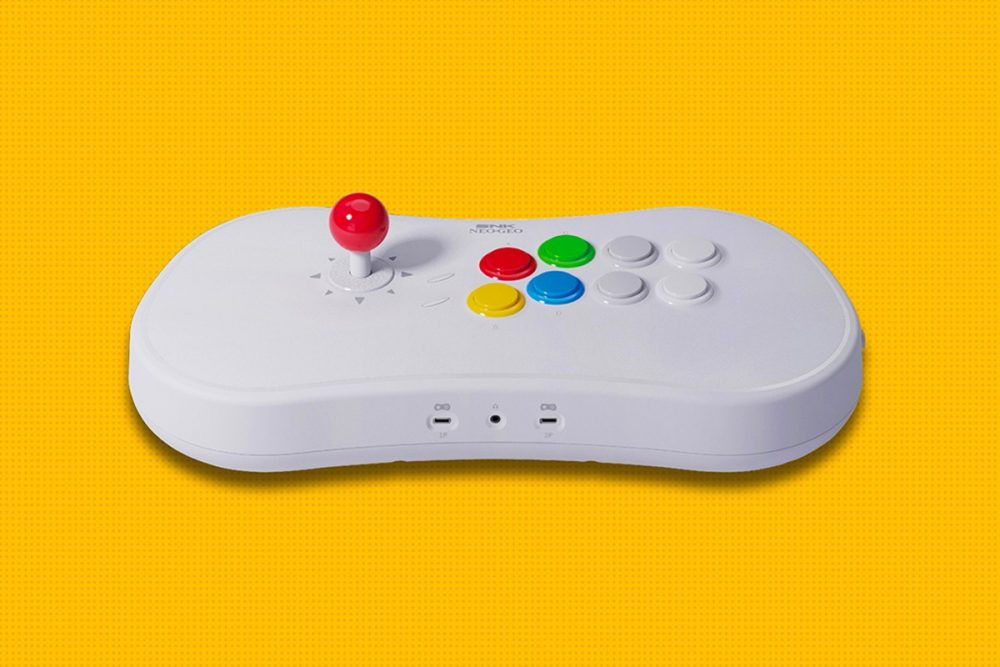 ¿Consola y mando en uno? NeoGeo Arcade Stick Pro apuesta por ello
