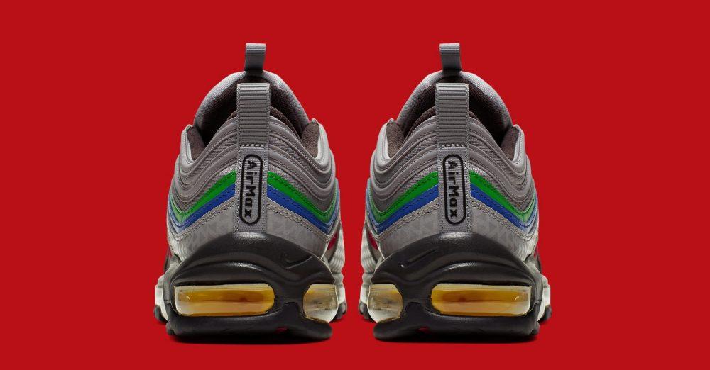 """nike air max 97 nintendo 64 ci5012 001 heel 1000x522 - Nike revela la fecha de lanzamiento de las Air Max 97 """"Nintendo 64"""""""