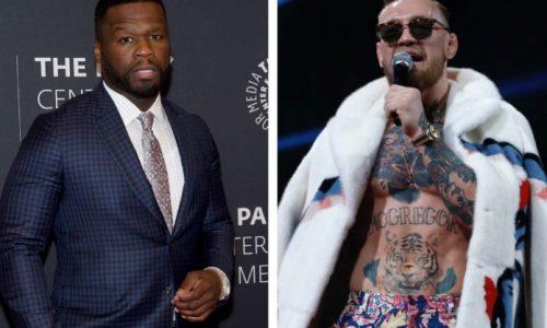 Conor McGregor quiere tener una pelea con 50 Cent