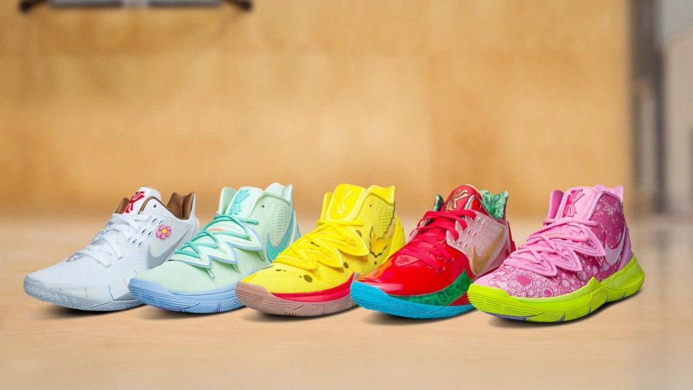 La peculiar línea de Bob Esponja de Nike Kyrie vuelve a las tiendas