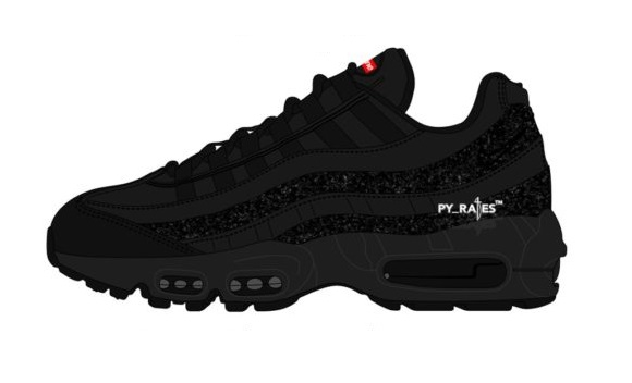 Drake filtra la primera imagen de las Air Max 95 Lux de Supreme x Nike