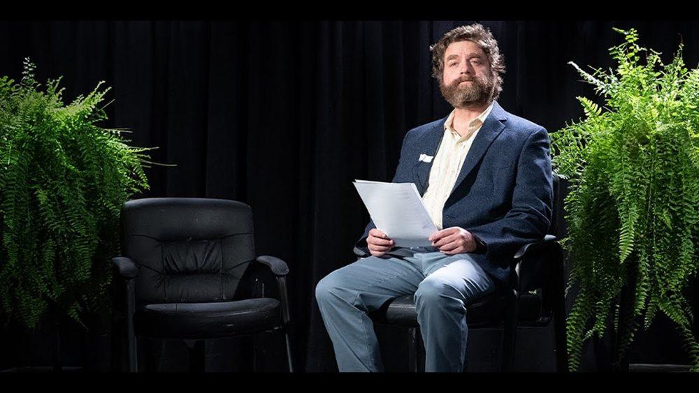 «Entre dos helechos»: la nueva locura de Zach Galifianakis en Netflix