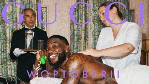 Gucci Mane anuncia su colaboración con Gucci Cruise y 'Woptober 2'