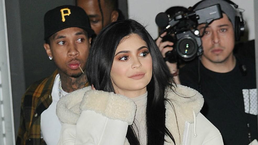 Kylie Jenner y Tyga vuelven a verse en una discoteca de Los Ángeles