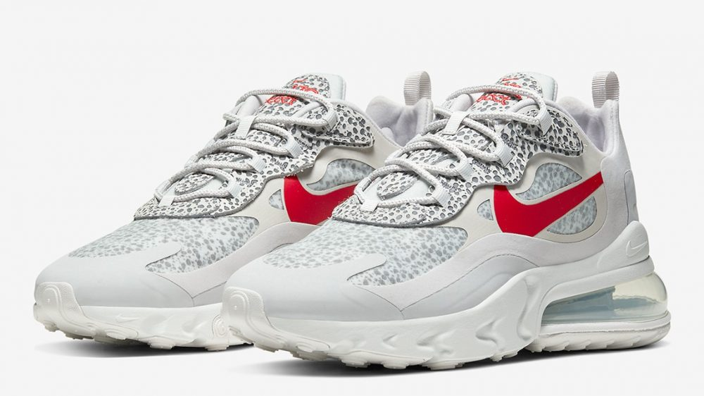 Nike se pasa a la aventura con las Air Max 270 React «Safari»