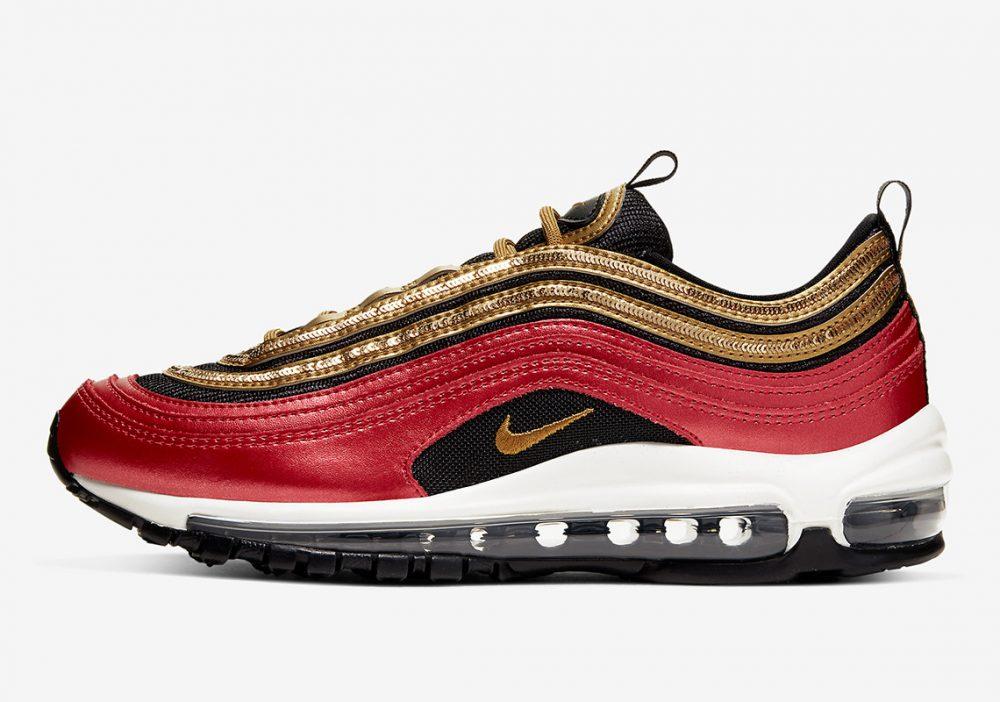 nike air max 97 CT1148 600 1 1000x702 - Las nuevas Nike Air Max 97 rojas y doradas son todo lo que necesitas