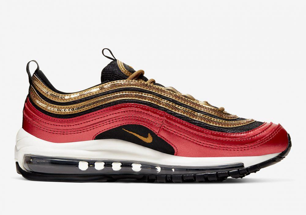 nike air max 97 CT1148 600 3 1000x702 - Las nuevas Nike Air Max 97 rojas y doradas son todo lo que necesitas