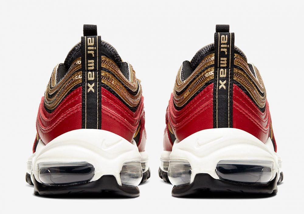 nike air max 97 CT1148 600 6 1000x702 - Las nuevas Nike Air Max 97 rojas y doradas son todo lo que necesitas