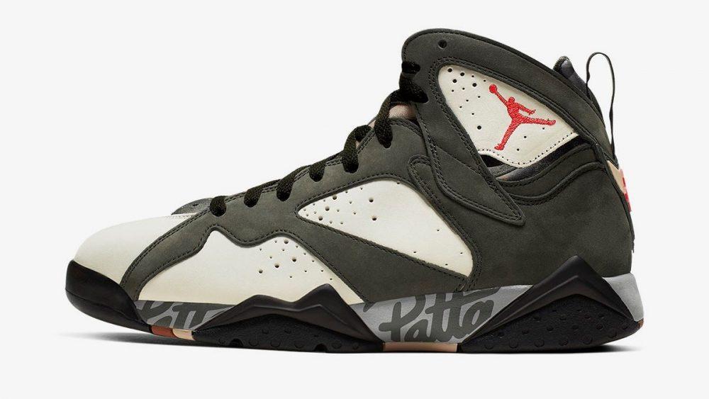 Nike tiene preparado un nuevo color de las Air Jordan 7 x Patta