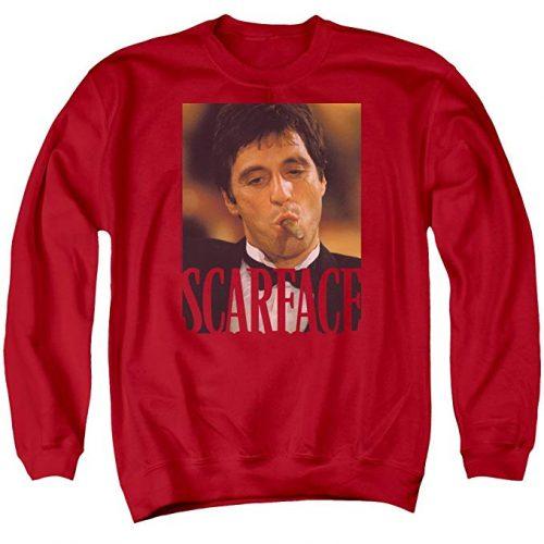 """scarface merch 500x500 - ¿Te has preguntado por qué es """"Scarface"""" un clásico del rap?"""
