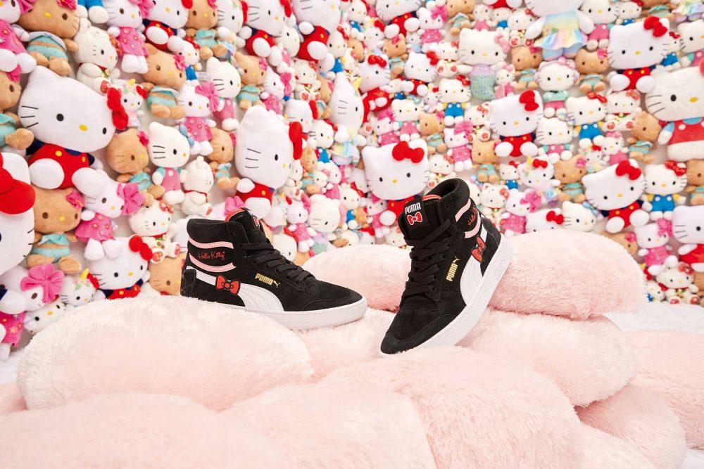19AW xSP Hello Kitty Adult Product 0417 1000x667 - PUMA celebra el 45 aniversario de Hello Kitty con una nueva colección