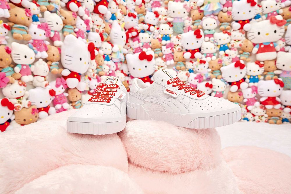 zapatillas puma hello kitty