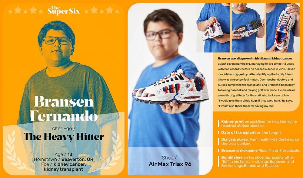 Doernbecher Freestyle 2019 Nike Air Max Triax 96 2 1000x589 - Los niños de Doernbecher reinventan las zapatillas más clásicas de Nike