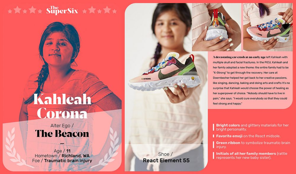 Doernbecher Freestyle 2019 Nike React Element 55 Release Date 2 1000x589 - Los niños de Doernbecher reinventan las zapatillas más clásicas de Nike