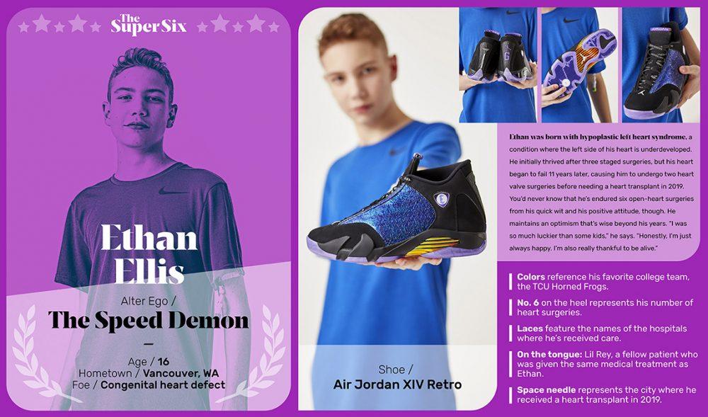Doernbecher Freestyle 2019 air jordan 14 release date 2 1000x589 - Los niños de Doernbecher reinventan las zapatillas más clásicas de Nike