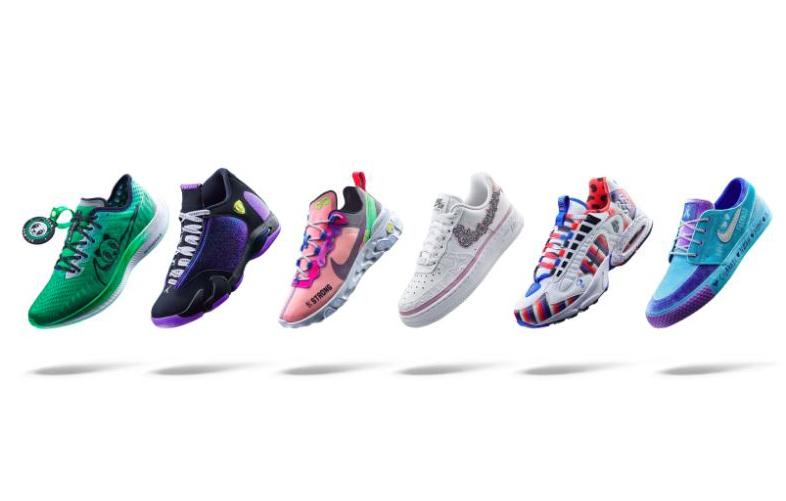 Los niños de Doernbecher reinventan las zapatillas más clásicas de Nike