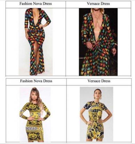 Versace2 471x500 - Versace demanda a Fashion Nova por plagiar el icónico vestido de J. Lo
