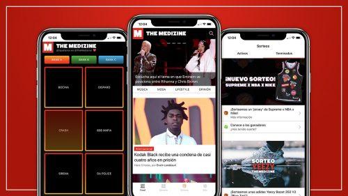 ¡Estrenamos la nueva versión de The Medizine App con notificaciones push y sampler!
