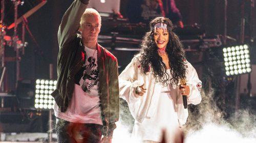 Eminem aclara la polémica de sus versos sobre Rihanna y Chris Brown