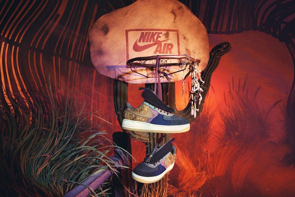 https   hypebeast.com image 2019 10 travis scott nike air force 1 cactus jack cn2405 900 release date 10 1000x666 - Travis Scott vuelve a sus raíces con las Air Force 1 de Nike x Cactus Jack