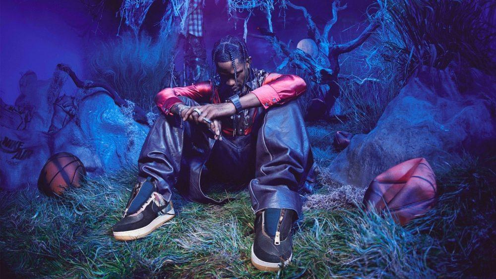 Travis Scott vuelve a sus raíces con las Air Force 1 de Nike x Cactus Jack