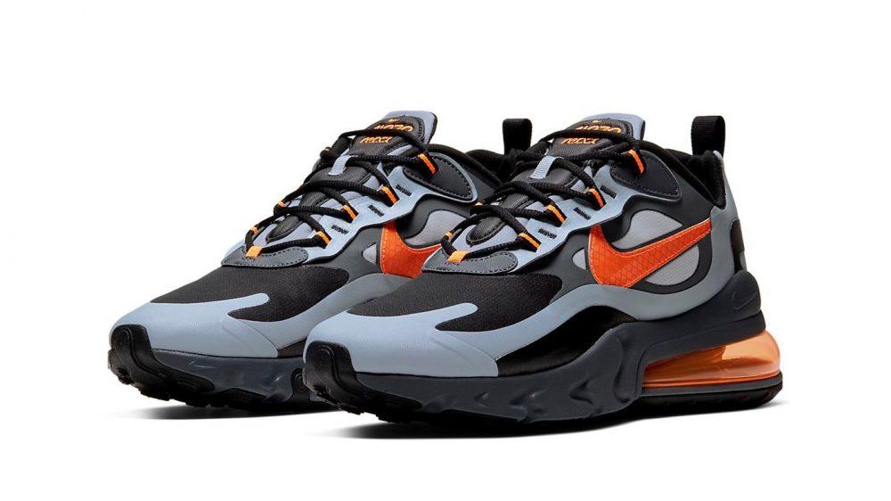 Nike nos traslada de lleno al invierno con sus Air Max 270 React «Winter»
