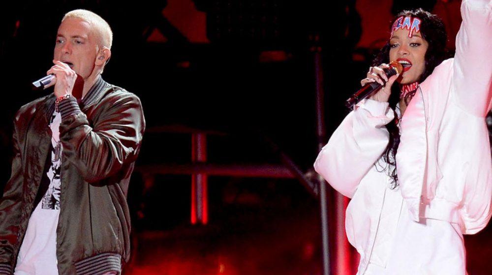 Escucha aquí el tema en que Eminem se posiciona entre Rihanna y Chris Brown