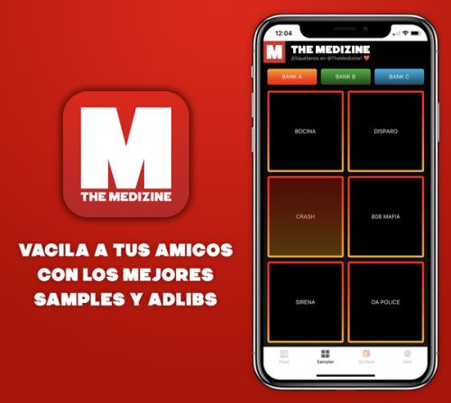 sampler promo web 500x447 - ¡Estrenamos la nueva versión de The Medizine App con notificaciones push y sampler!