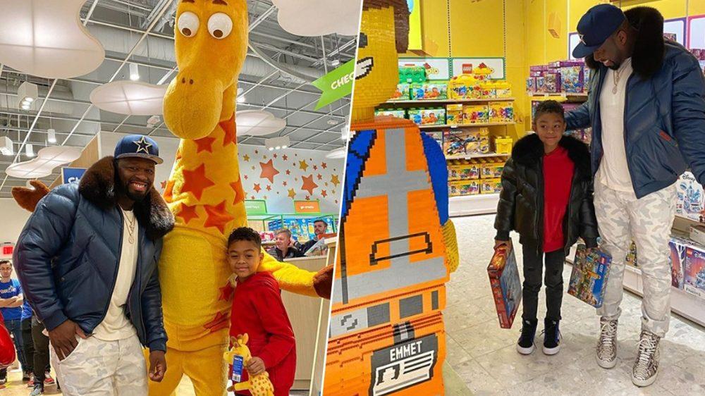 50 Cent alquila una tienda entera de Toys R Us para hacer feliz a su hijo
