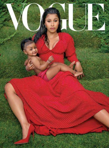 VO0120 Cover Cardi 1 368x500 - Cardi B no se deja nada en el tintero en su última entrevista para Vogue