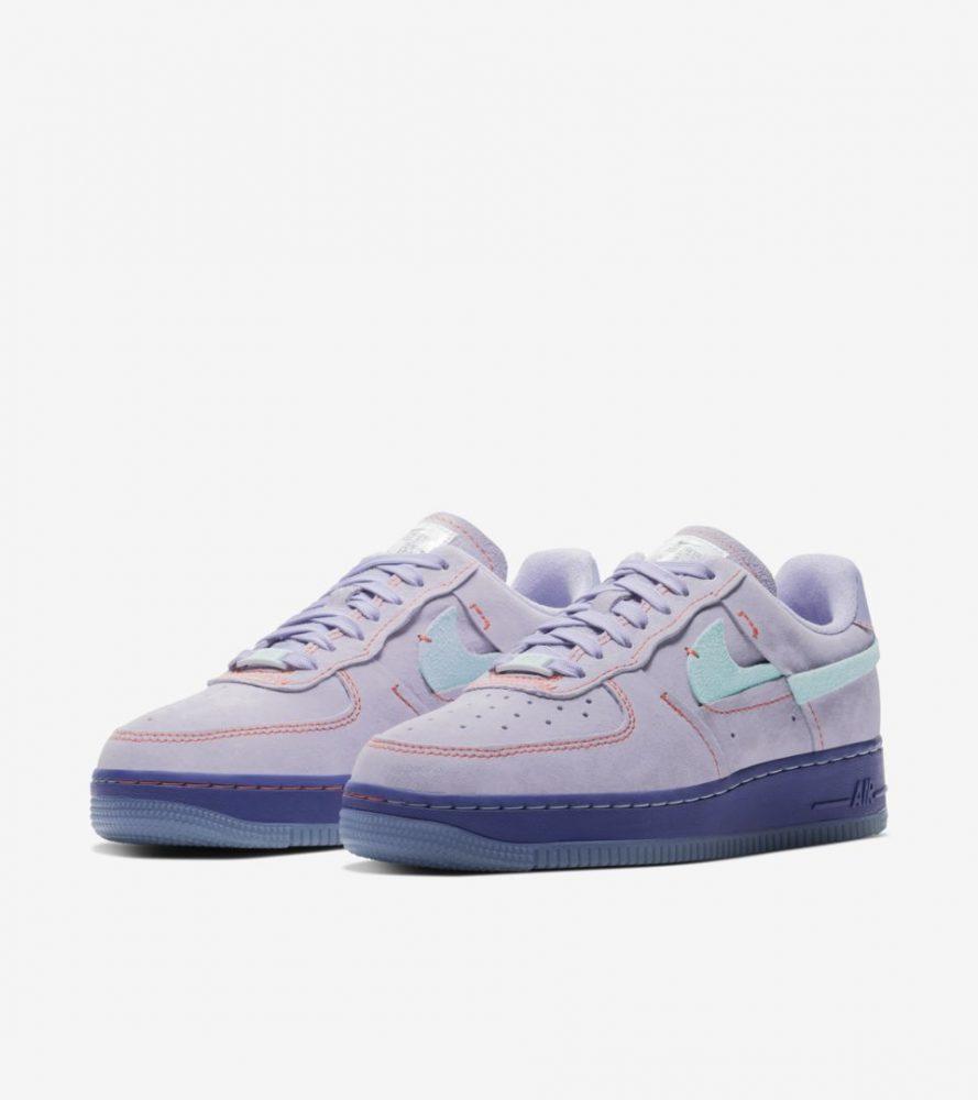 "af1 3 889x1000 - Todos los detalles sobre las Nike Air Force 1 LXX ""Purple Agate"""