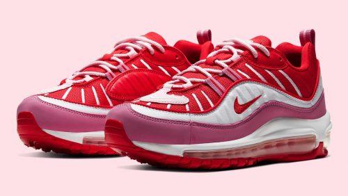 Nike desvela como serán las Air Max 98 «Valentine's Day»