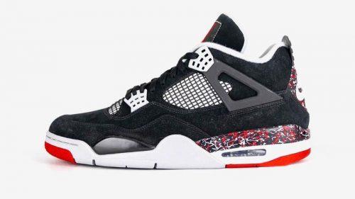 OVO y Nike presentan las Air Jordan 4 «Splatter»