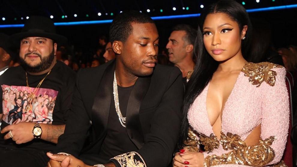 Nicki Minaj y su marido discuten con Meek Mill en una tienda de ropa