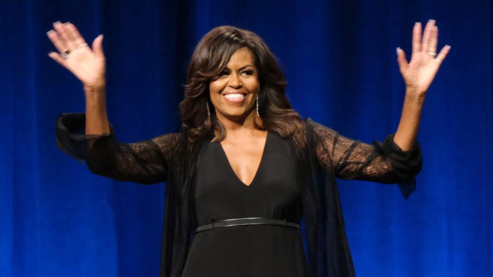 Sabemos qué música escucha Michelle Obama cuando hace ejercicio