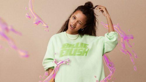 Billie Eilish lanza una colección de ropa sostenible junto a H&M