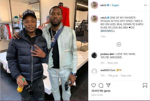 Cap 500x337 - Nicki Minaj y su marido discuten con Meek Mill en una tienda de ropa