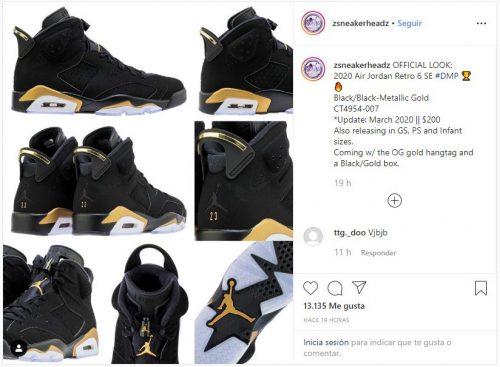 """Captura 9 500x367 - ¿Cuándo van a salir al mercado las nuevas Air Jordan 6 """"DPM""""?"""