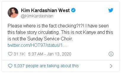 Captura2 - 50 Cent trollea a Kanye por caerse de un caballo en el Sunday Service