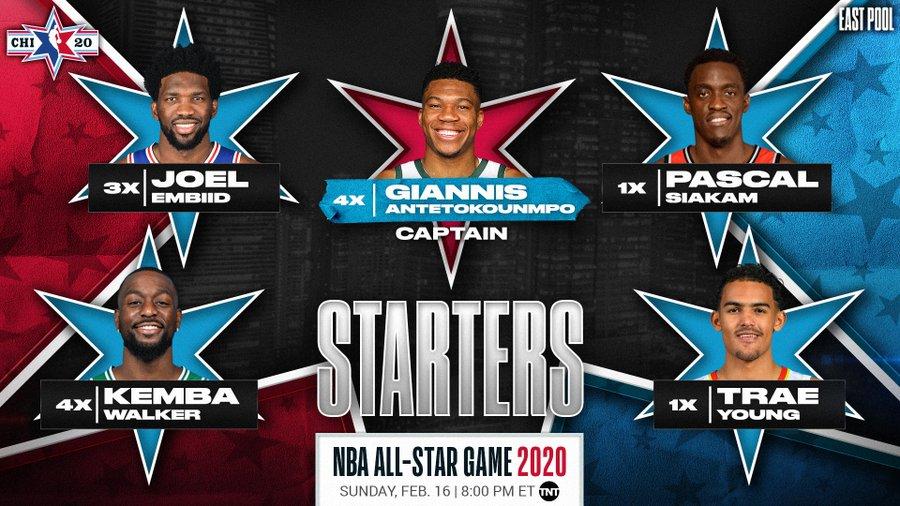 Starters este - Te explicamos el nuevo formato del All-Star en honor a Kobe