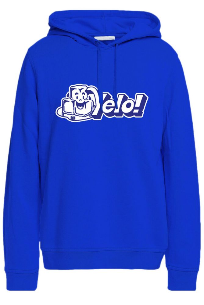 Sudadera Yelo azul 669x1000 - C. Tangana deja a todos helados con 'Yelo' y estrena merchan