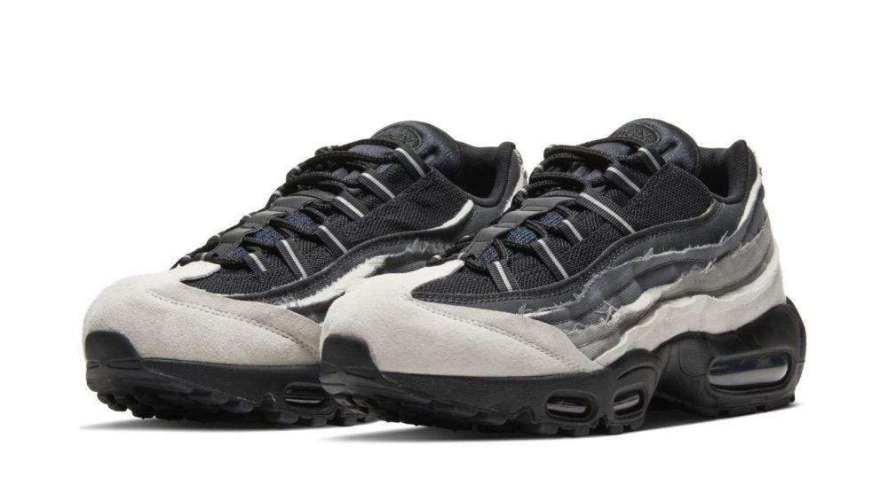 comme des garcons nike air max 95 black 2 1000x539 - Nike y Comme Des Garçons presentan unas nuevas Air Max 95