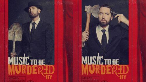 Eminem lanza el merch de su álbum 'Music to be Murdered By'