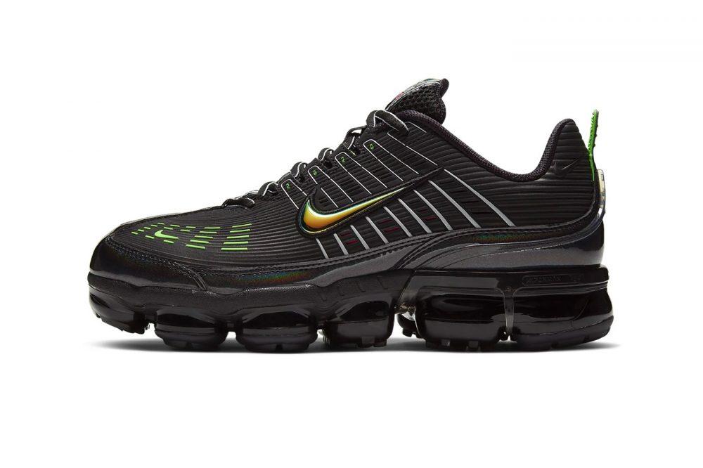 "https   hypebeast.com image 2020 01 nike air vapormax 360 black off noir ck2718 003 release 001 1000x666 - Ya disponibles las Nike Air VaporMax 360 ""Black/Off-Noir"""