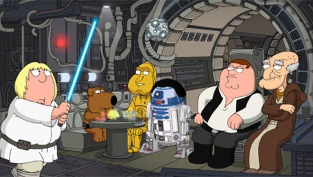 Recordamos cuando «Padre de familia» se fundió con «Star Wars»