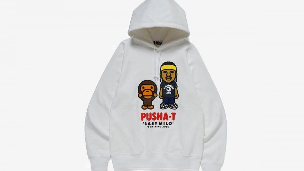 pusha t bape collab 09 1 1000x563 - La nueva colaboración de BAPE y Pusha-T está a punto de salir